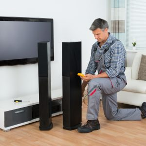 instalare sistem Home Cinema