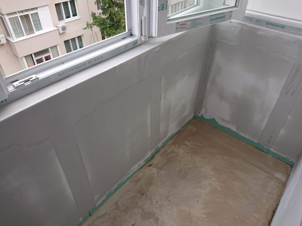 Proiect 5027 - Renovare balcon: finisaje, tamplarie, hidroizolatie